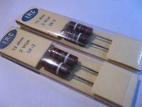 Resistor 2W 12 Ohm 12R 5% IRC Carbon Composition - NOS Qty 4