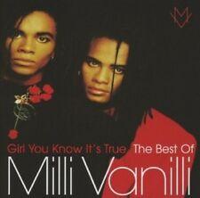 MILLI VANILLI - GIRL YOU KNOW IT'S TRUE-THE BEST OF MILLI VANILLI  CD NEU