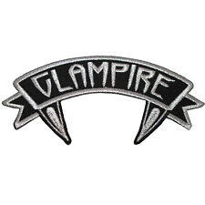 Kreepsville 666 Arch Glampire Punk Vampire Embroidered Iron On Patch PASGL