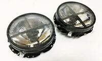 VW Golf Mk1 Smoked Headlights Jetta Rabbit Caddy Euro Hella Dark STYLE