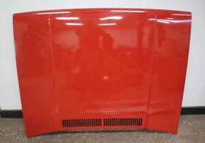 Hood Bonnet 79-84 VW Rabbit GTI Pickup Jetta Cabriolet MK1 - LE3C Royal Red