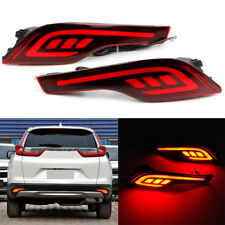 LED Rear Bumper Reflector Driving Brake Tail Light For Honda CRV CR-V 2016-2017