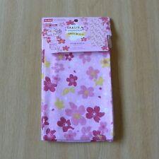 tenugui-serviette en couleur de rose pétant / Japanese tenugui towel -- pink