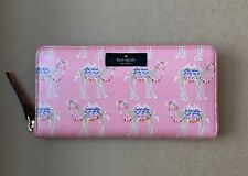 Authentic Kate Spade Daycation Camel Party Neda RARE Wallet New