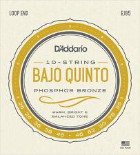 D'Addario Ej85 Bajo Quinto phosphor bronze strings