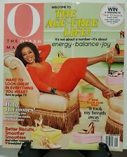 Oprah Magazine Age Free Life Hormones Book club Pick Sept 2016 FREE SHIPPING JB