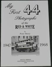 RED & WHITE BUSES Bus History Vehicle Photographs 1947-1968 West Country Bristol