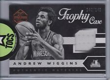 Andrew Wiggins 2015-16 Panini Limited Trophy Case Jersey Card 142/149 Minnesota