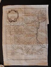 Bulgaria Romania Turchia map acquaforte originale Zatta 1789 Ucraina Mar Nero