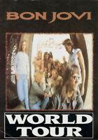BON JOVI 1995 THESE DAYS UK TOUR SOUVENIR CONCERT PROGRAM BOOK BOOKLET / VG 2 EX