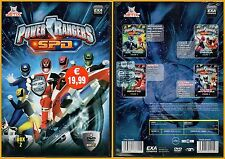 DVD 471 POWER RANGERS  SPD COFANETTO CON 4 DVD SIGILLATO