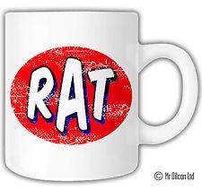 RAT MUG, ratlook, vw, by Mr Oilcan