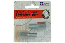 "Childrens Bike Training Wheel Stabiliser Axle Extension Bolts 3/8"" by Adie"