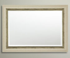John Lewis Orabelle Bevelled Wall Mirror Ivory Gilt Champagne RRP£195 76x102cm