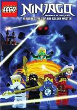 LEGO NINJAGO: MASTERS OF SPINJITZU - REBOOTED: FALL OF THE GOLDEN MASTER NEW DVD