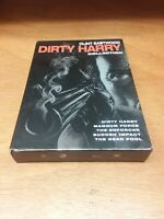 The Dirty Harry Collection (DVD, 2010, 6-Disc Set)