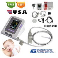 Born/Infant/Pediatric Blood Pressure Monitor Infant SPO2 PR Sphygmomanometer+CD