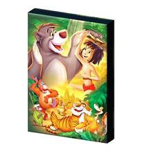 THE JUNGLE BOOK c- DISNEY CLASSIC CANVAS PICTURE - 3 SIZES TO CHOOSE A5, A4, A3