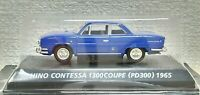1/64 Konami 1965 Toyota HINO CONTESSA 1300 COUPE BLUE diecast car model