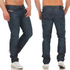 DIESEL Buster 0842N Jeans Regular Slim Tapered Herrenjeans Denim Hose