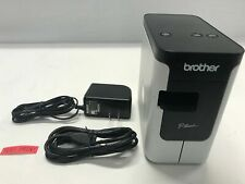 Brother P-Touch PT-P700 PC Connectable Label Maker Labeler Tested