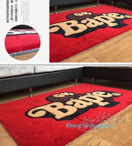 Bape Rug Thick Carpet Mat Bedroom Living Room Area Floor Decor New Hot