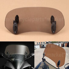 Universal Adjustable Clip On Screen Windshield Extension Spoiler Air Deflector