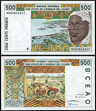 WEST AFRICAN STATES 500 FRANCS (P810Tf) N. D. (1996) TOGO UNC