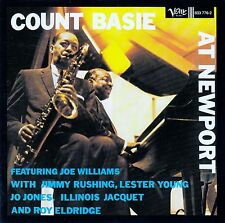 COUNT BASIE : COUNT BASIE AT NEWPORT / CD - NEUWERTIG