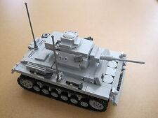 Lego WW2 GERMAN Vehicle PANZER III ausf. K TANK Artillery NEW