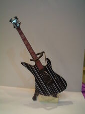 Miniature Guitar (24cm Tall) : AVENGED SEVENFOLD SYNESTER GATES SCHECTER