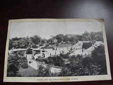 Early 1900s Singer Sewing Co Print w/ NYC Central Park