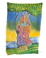 Batik Da Donna Hindu 115x 74cm Artigianato India Peterandclo 8816