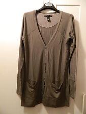 Cardigan grigio taupe H&M grey cardigan size S