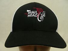 TRAIL HEAD CAFE - EMBROIDERED - FLEXFIT BALL CAP HAT!