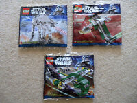LEGO Star Wars - 3 Rare Brickmaster sets - 20018 20019 20021 - New & Sealed