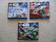 LEGO Star Wars - 3 Rare Brickmaster sets - 20018 20019 20021 - New & Sealed