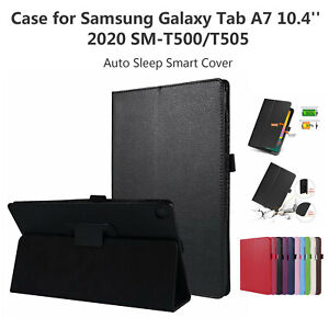 Case for Samsung Galaxy Tab A7 10.4'' 2020 SM-T500/T505 Auto Sleep Smart Cover A