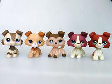 5×Littlest Pet Shop LPS Toys Figure Collie Dogs #1262 #1542 #2452 #893 #2210