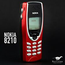 Nokia 8210 - Red Cellular Phone