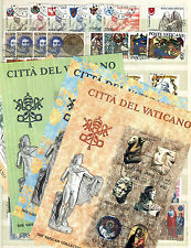 Vatican City 1980's Collection of Stamps and Mini Sheets, Used , CTO