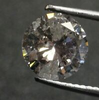 GIA loose certified 1.78ct I3 I round brilliant diamond estate vintage antique