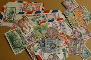 57 Jamaica used postage stamps philately postal Caribbean Philatelic