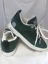 Reef Brazil Blinder Suede Trainers Deep Green UK 6 Eur 39 rrp £60 JS17 78
