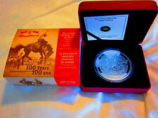 CANADA 2012 5 oz Fine Silver Coin - 100 Years of the Calgary Stampede