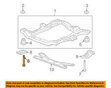 GM OEM Front Suspension-Engine Cradle Front Bolt 11609933