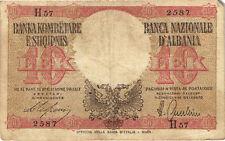 Albanien / Albania 10 Lek (1940) Pick 11 (4)