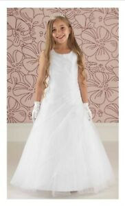 LINZI JAY 'ELLIE' FIRST HOLY COMMUNION DRESS. AGE 8 YEARS. BRAND NEW WITH TAGS.