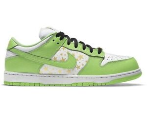 Nike x Supreme SB Dunk Low Stars Green 2021 Size 6 *ORDER CONFIRMED*