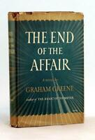 Graham Greene 1951 The End Of The Affair Catholic Novel Hardcover w/Dustjacket